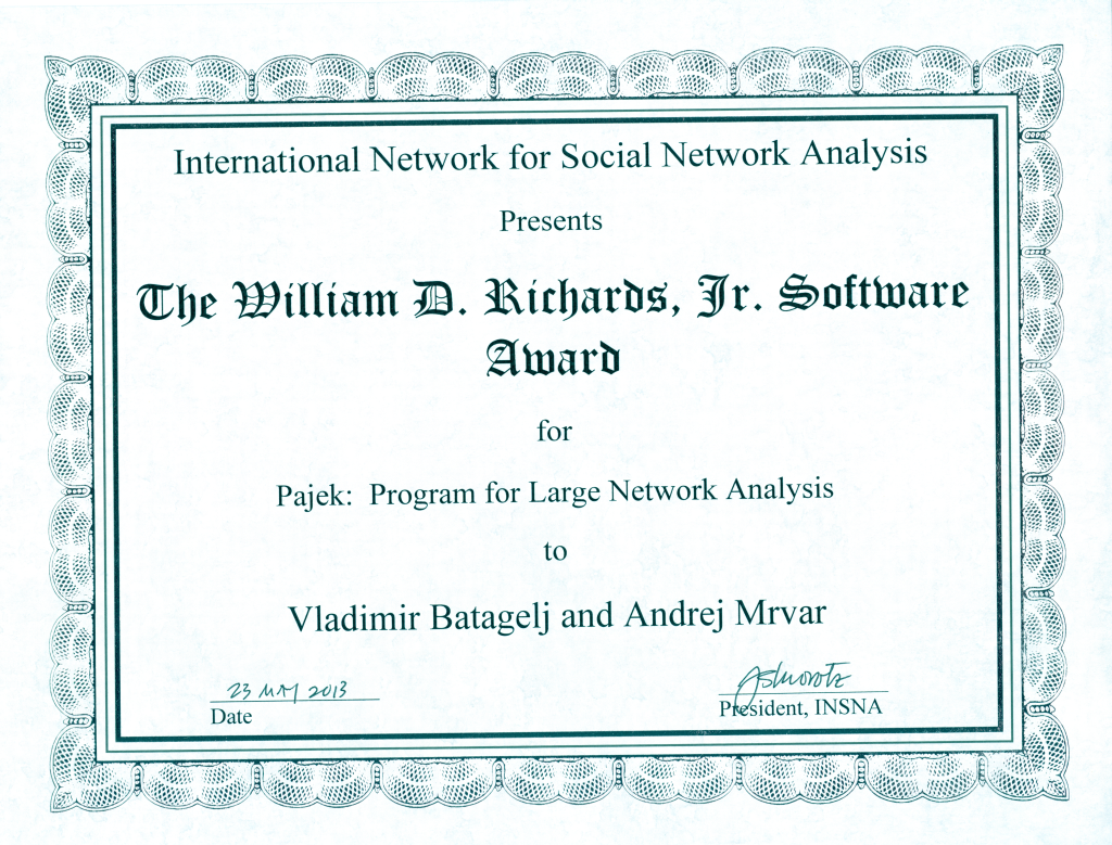 Richards Software Award 2013